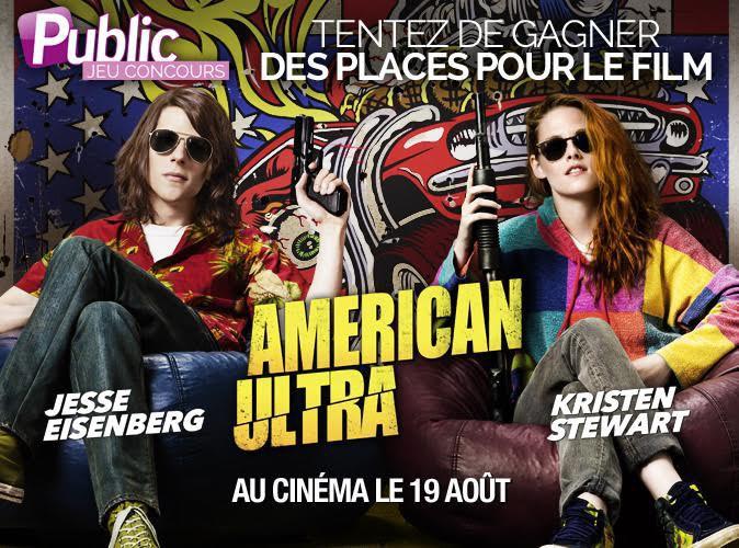"""Jeu concours : Gagnez vos places pour le film """"American Ultra"""" !"""