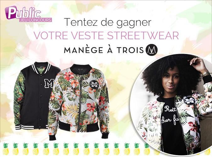"""Jeu concours : gagnez vos vestes streetwear """"Manège à trois"""" !"""