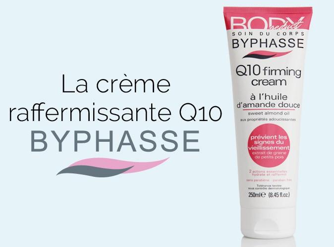 Plus produit : à vous la crème raffermissante BYPHASSE !