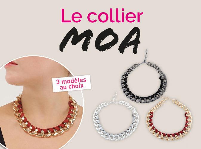 Plus Produit : A vous le collier MOA !