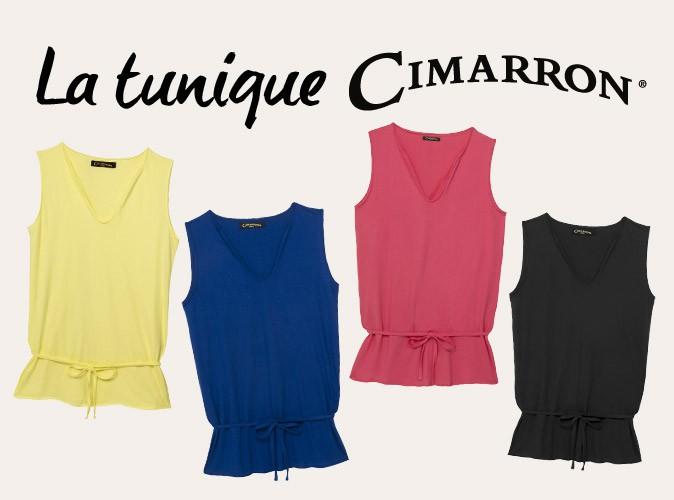 Plus produit : votre tunique Cimarron pour seulement 3,95€ en plus de votre magazine Public !