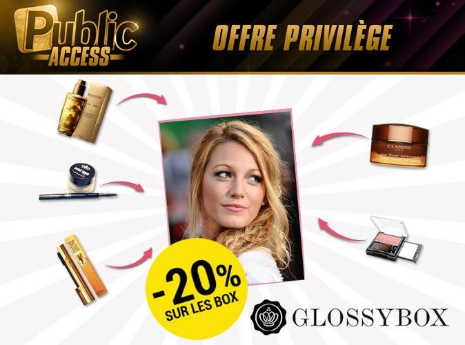 Public Access : bénéficiez de 20% de réduction sur votre abonnement à la GLOSSYBOX grâce à Public !