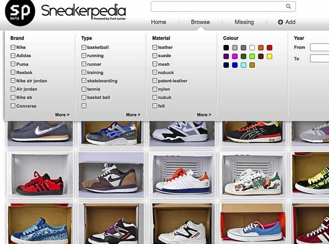 Sneakerpedia : un site communautaire de baskets