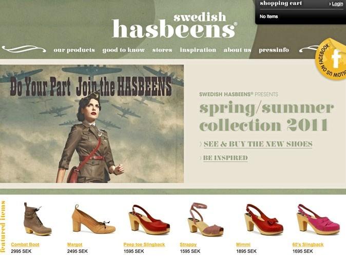 Swedish Hasbeens : des sabots à gogo !