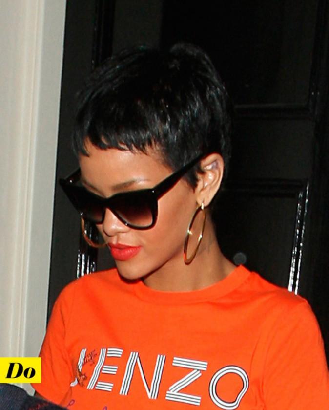 Rihanna et la coupe garçonne.