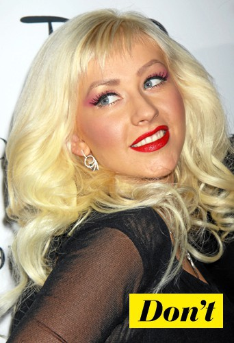 Don't l'eye-liner rock comme Christina Aguilera !