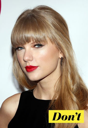 Don't l'eye-liner rock comme Taylor Swift !