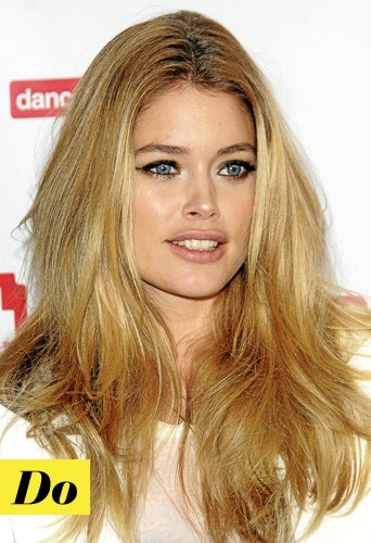 Do : Les cils fournis de Doutzen Kroes