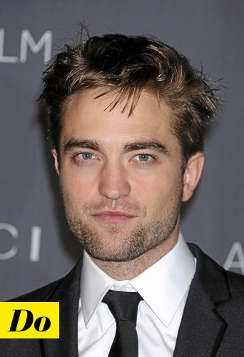 La barbe de trois jours version Robert Pattinson : Do !