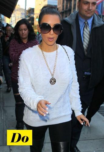 Do comme Kim Kardashian