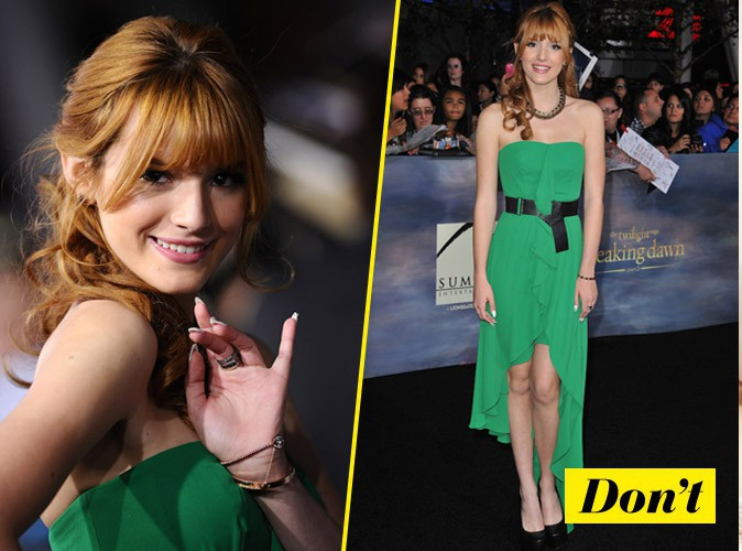 Don't comme Bella Thorne
