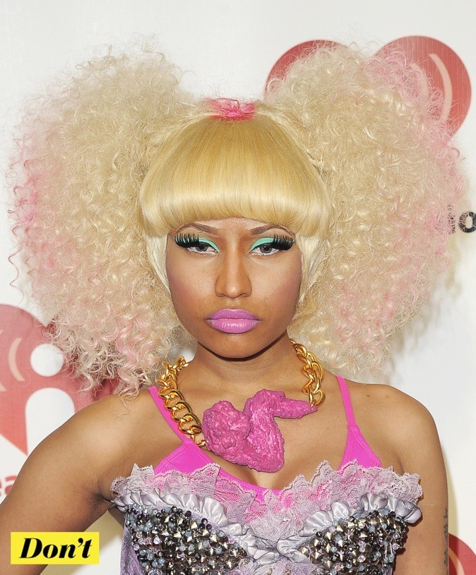 L'excentrique Nicki Minaj !