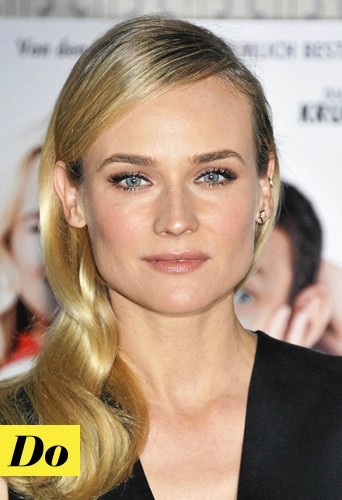 Diane Kruger et son teint naturel ? Do !