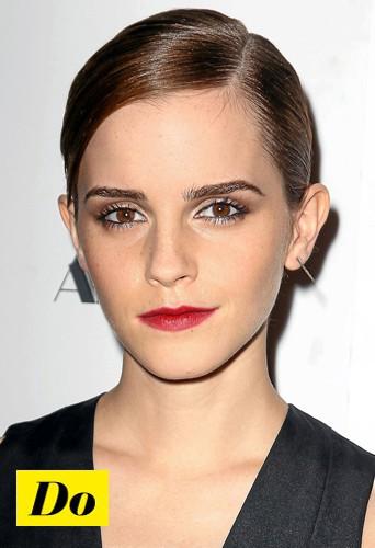 Plaquez vos cheveux comme Emma Watson !