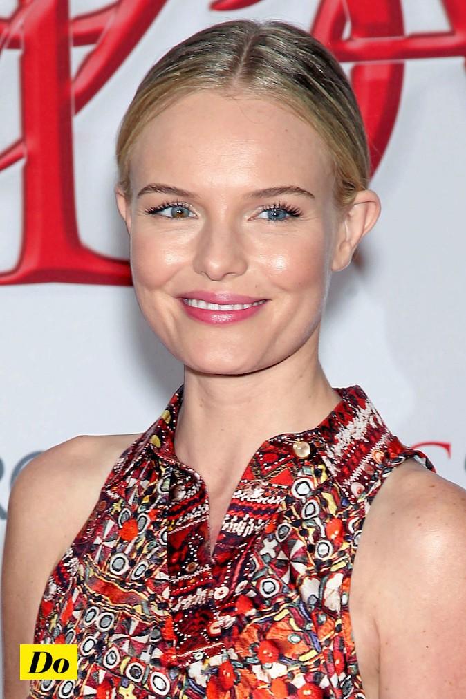 Plaquez vos cheveux comme Kate Bosworth !