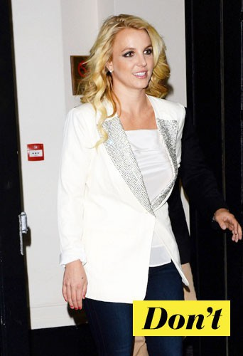 Ne faites pas comme Britney Spears !