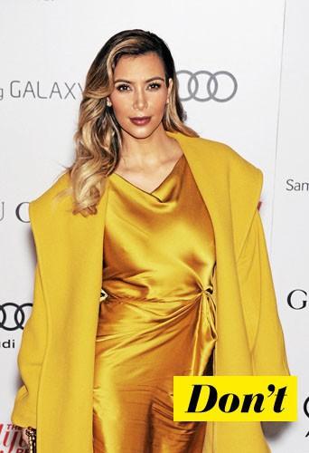 Ne faites pas comme Kim Kardashian !