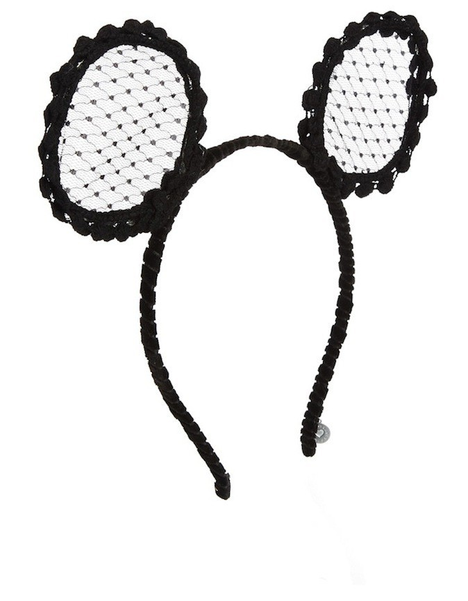 Serre-tête oreilles de souris, Asos 13,70 €