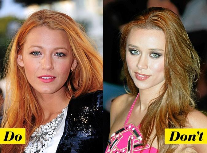 Coloration de star : comment porter les cheveux roux ?