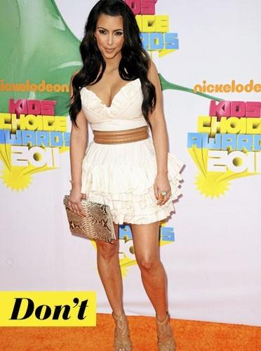 La pochette en python de Kim Kardashian !