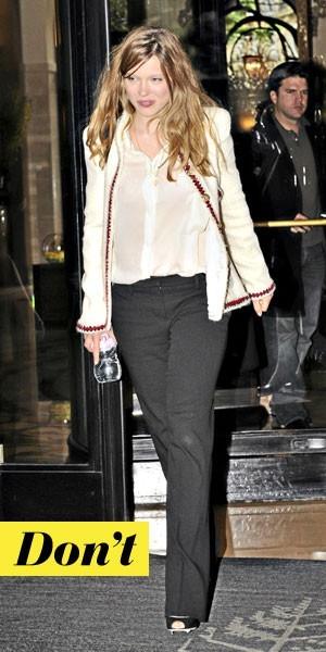 Le look de Léa Seydoux avec la veste en tweed Chanel