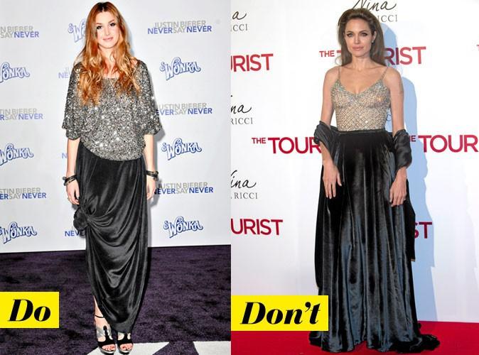 Look de star comment porter la jupe longue - Quel haut porter avec une jupe longue ...