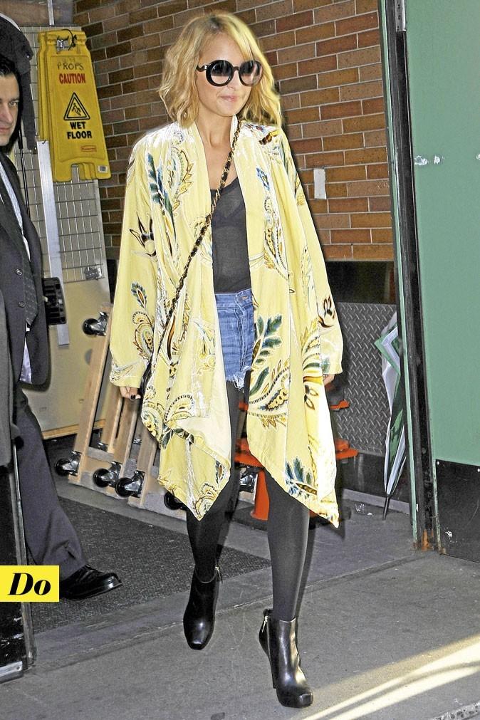 La veste kimono de Nicole Richie : Do !