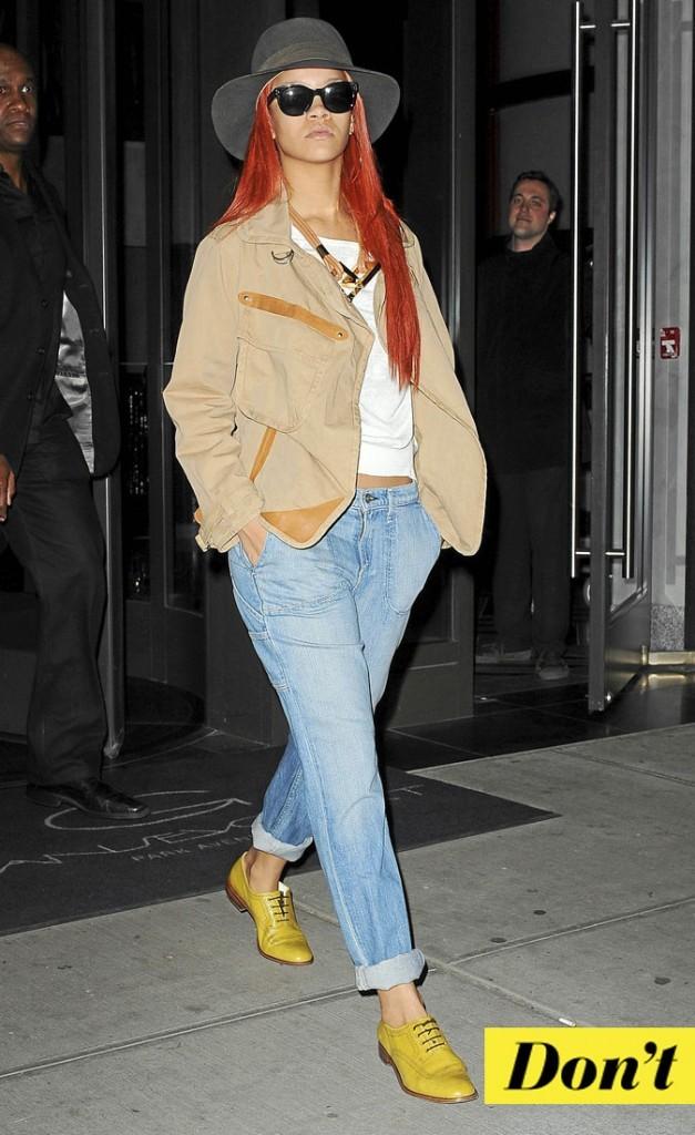 Les derbys jaunes de Rihanna