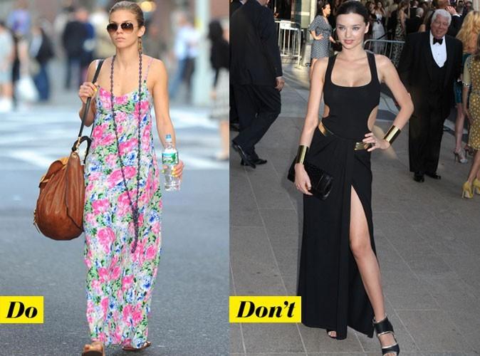 Look de star : mode d'emploi de la robe longue tendance été 2011 !