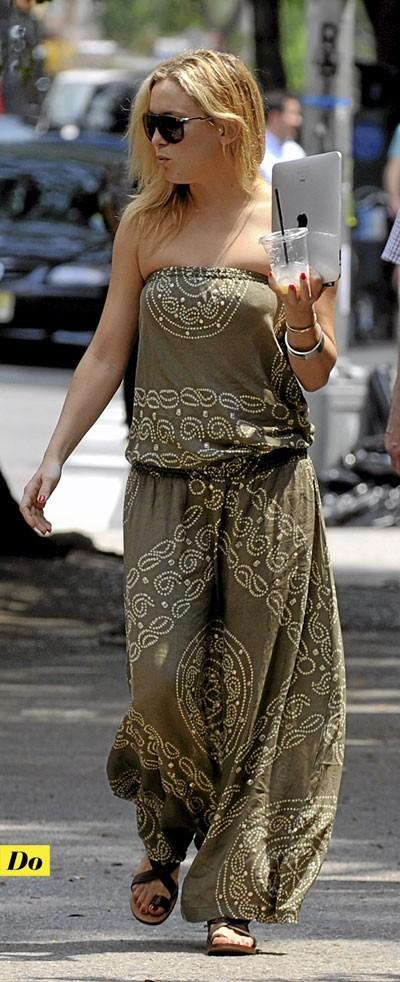 Tendance mode années 70 : la combinaison ethnique de Kate Hudson