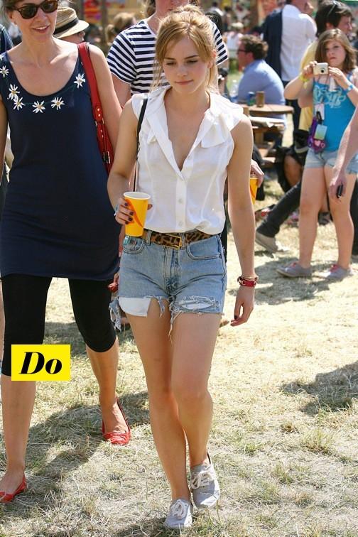 Emma Watson à Glastonbury