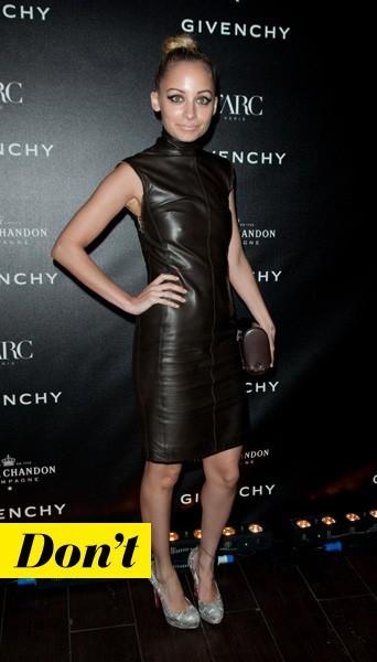 Nicole Richie en Givenchy