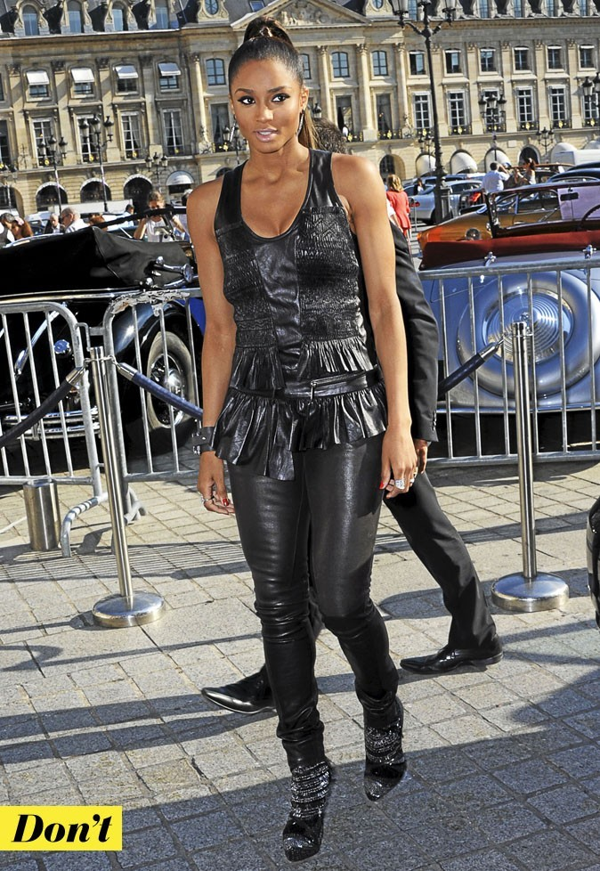 Don't : le cuir volanté de Ciara !
