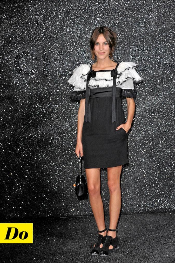 La petite robe noire d'Alexa Chung !