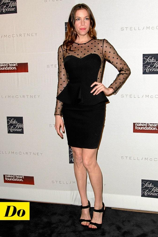 La petite robe noire de Liv Tyler !