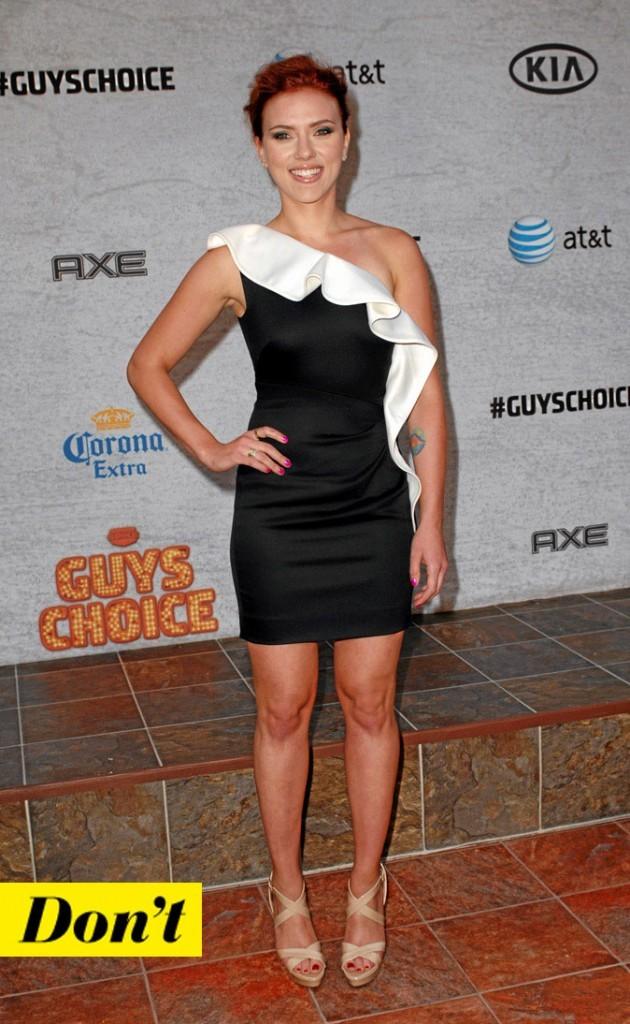 La petite robe noire de Scarlett Johansson !