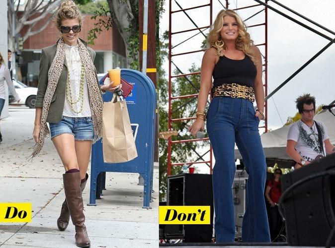 Looks de stars : jean, short, jupe, veste... mode d'emploi du denim tendance 2011 !