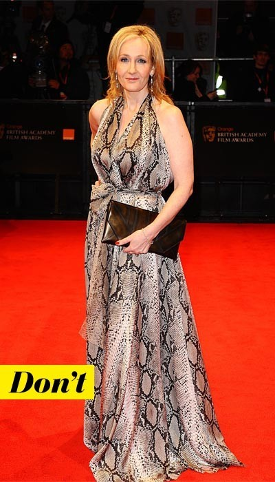 Trop bal de promo la robe de J.K. Rowling !