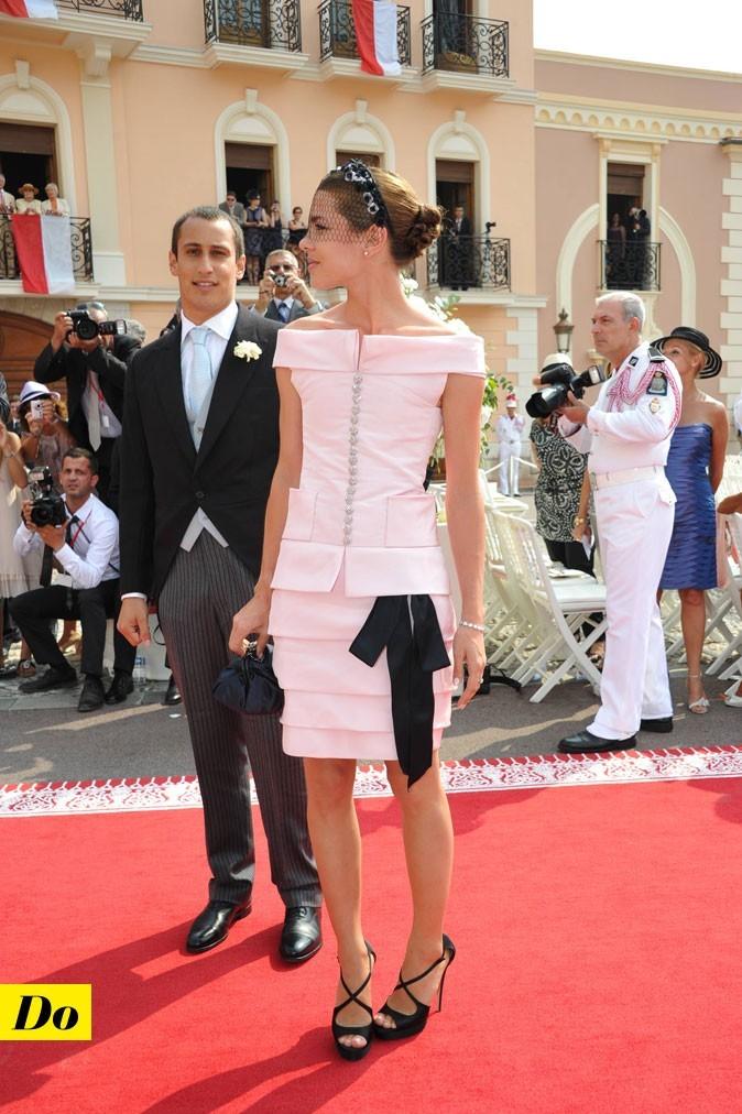 Mariage de Charlene Wittstock et Albert de Monaco : le look de Charlotte Casiraghi le jour !