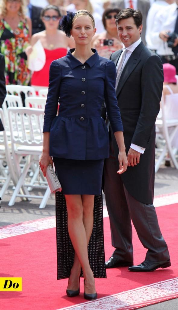Mariage de Charlene Wittstock et Albert de Monaco : le look de Karolina Kurkova !