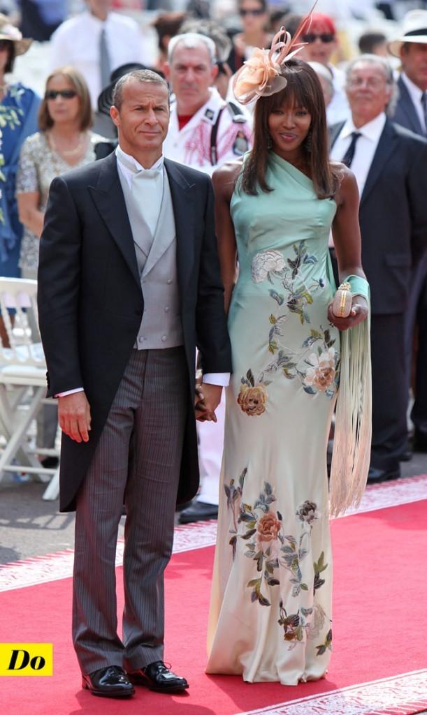 Mariage de Charlene Wittstock et Albert de Monaco : le look de Naomi Campbell !