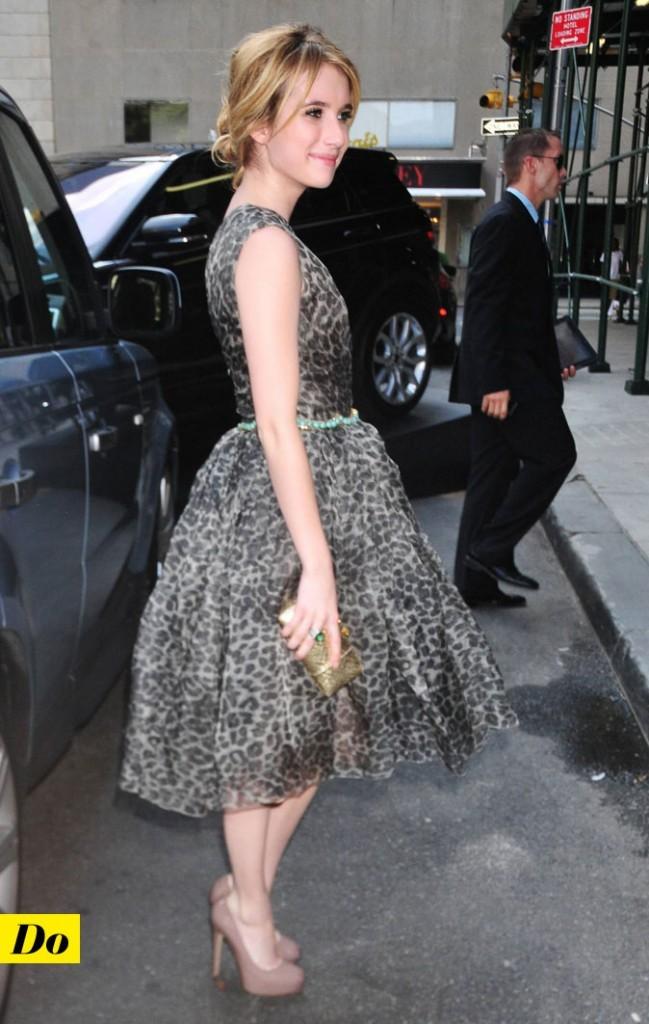 Mercedes-Benz Fashion Week 2011 : Emma Roberts dans les rues de New York !