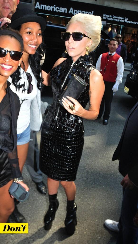 Mercedes-Benz Fashion Week 2011 : Lady Gaga dans les rues de New York !