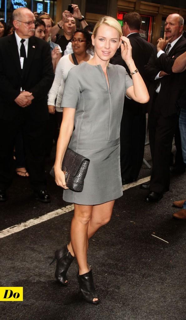Mercedes-Benz Fashion Week 2011 : Naomi Watts lors du défilé Calvin Klein !