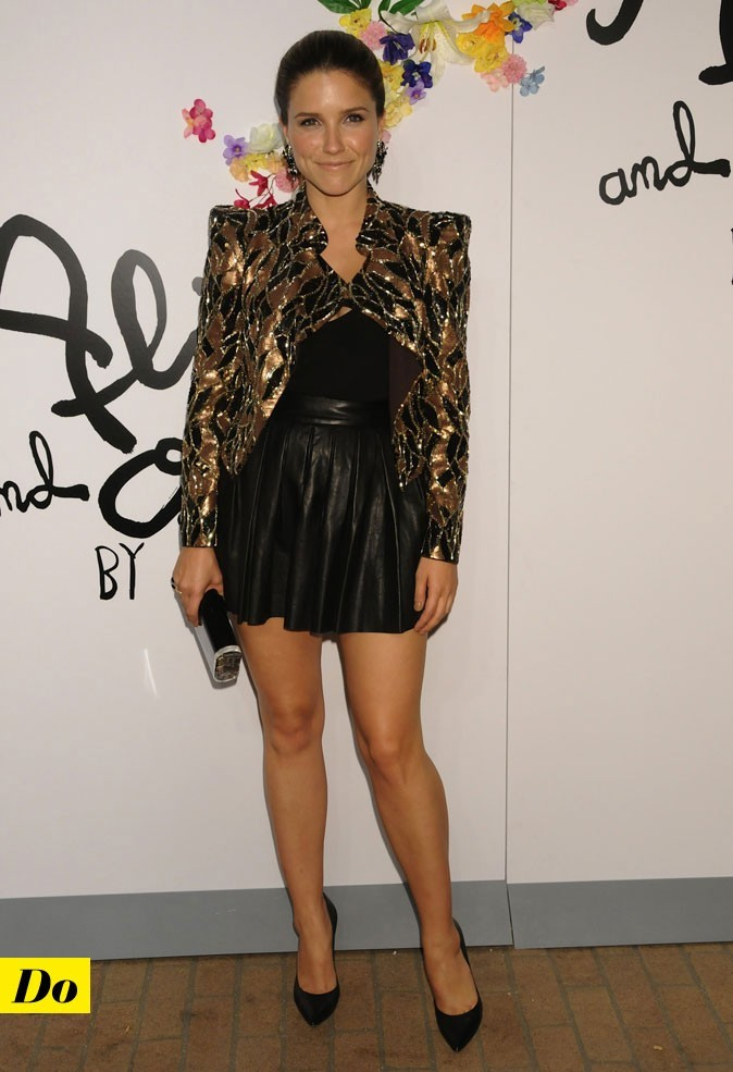 Mercedes-Benz Fashion Week 2011 : Sophia Bush lors du défilé Alice and Olivia !