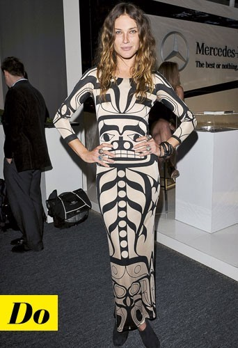 La robe longue d'Erin Wasson