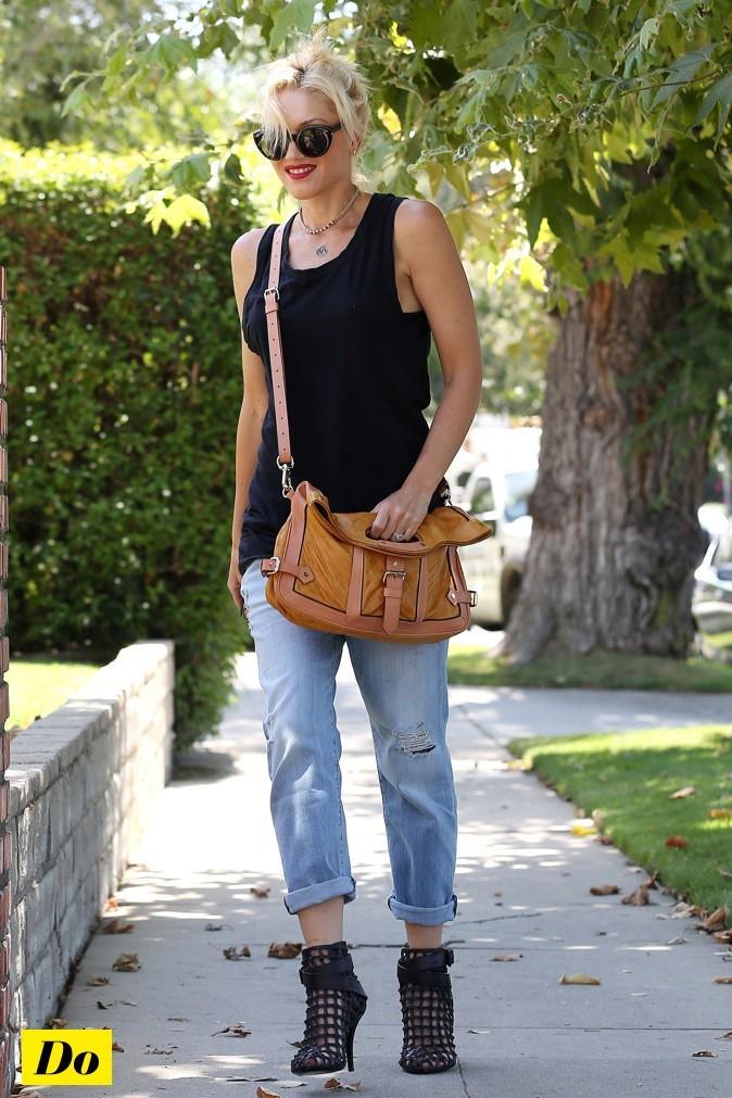 Gwen Stefani, toujours au top de la mode !