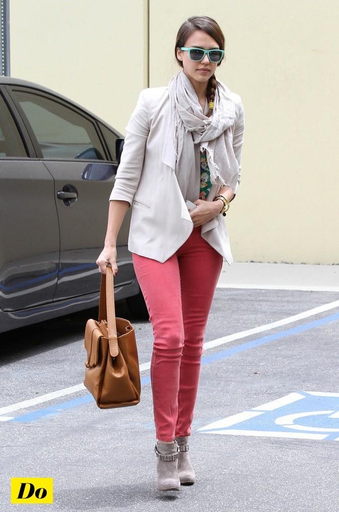 Jessica Alba, une maman fashionista !