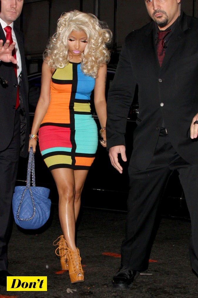 Nicki Minaj et son look décalé !