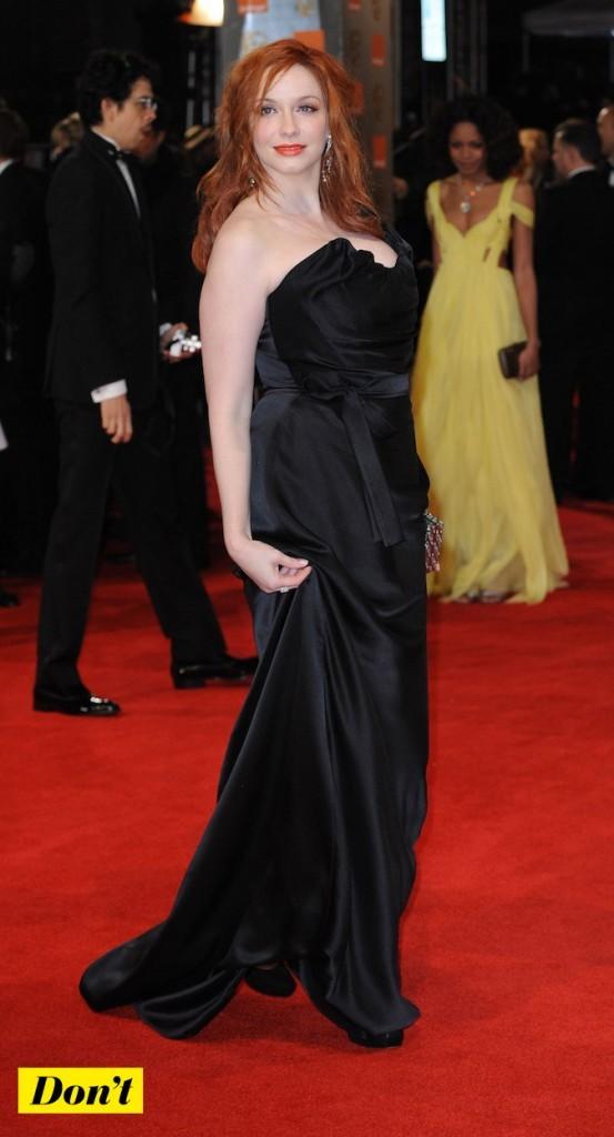 Christina Hendricks est une jolie rouse !